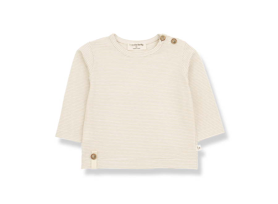 ODON long sleeve t-shirt beige