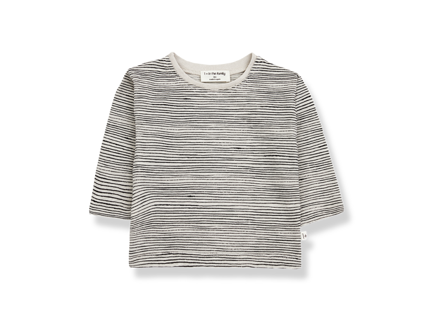 PEP long sleeve t-shirt stone