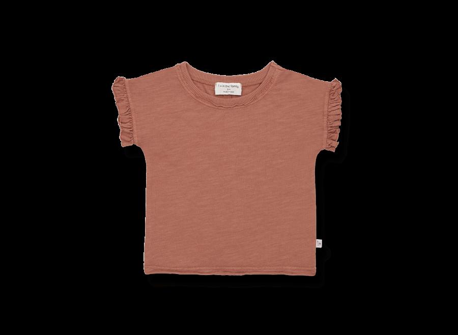 MIREIA s.sleeve t-shirt roibos