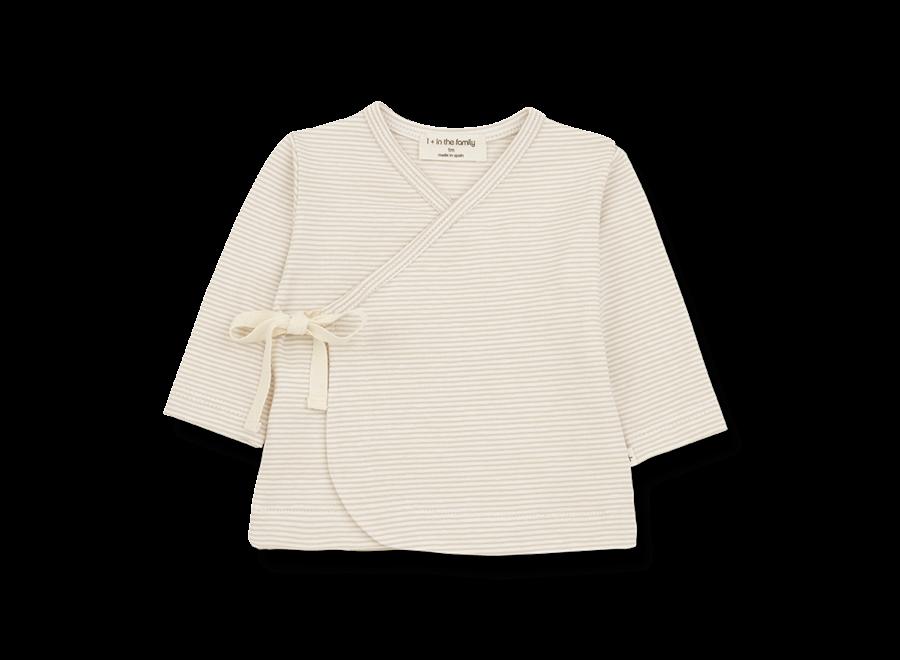 SOL newborn t-shirt beige