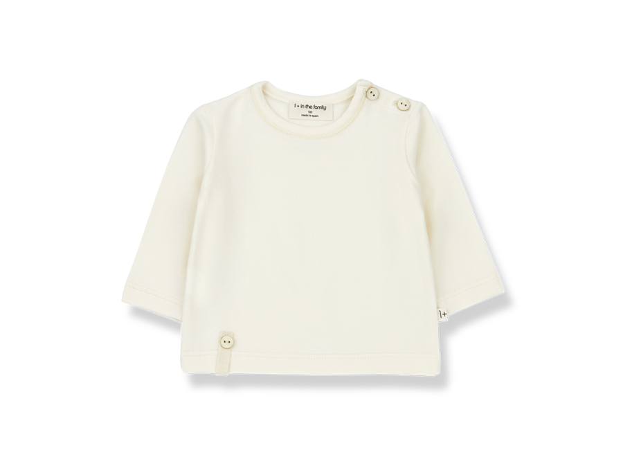 NOELLE long sleeve t-shirt ecru
