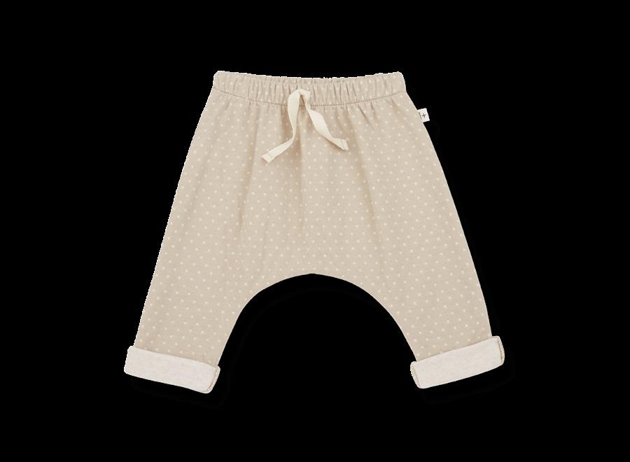 ADRIEN baggy pants beige