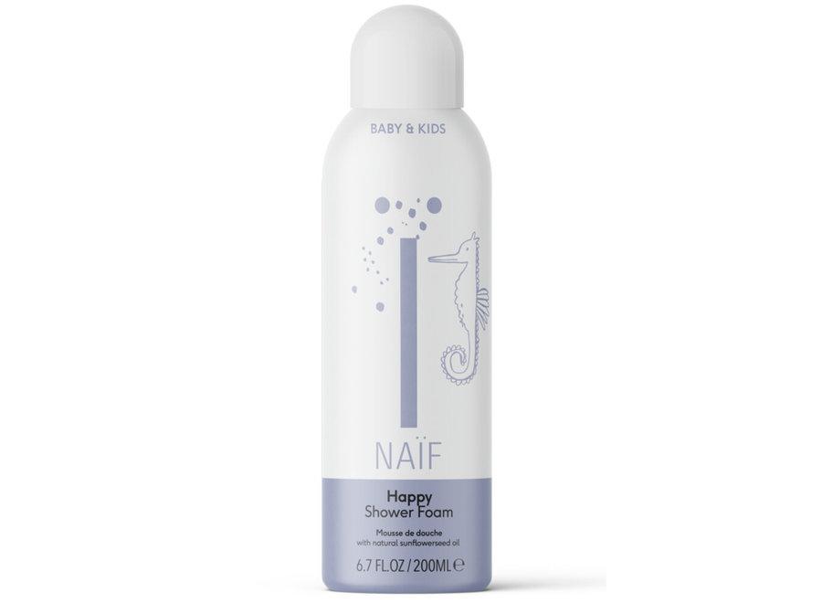 Naïf happy shower foam