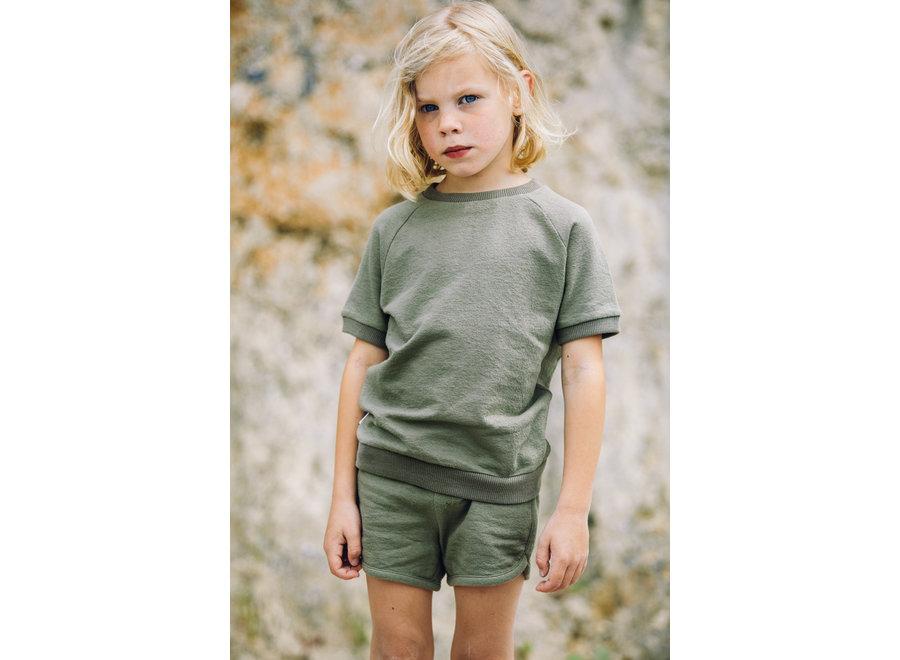 Short Sage Green