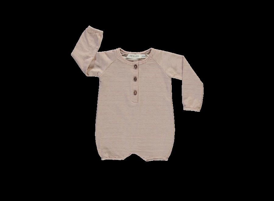 Baby jumpsuit long sleeve Stripe