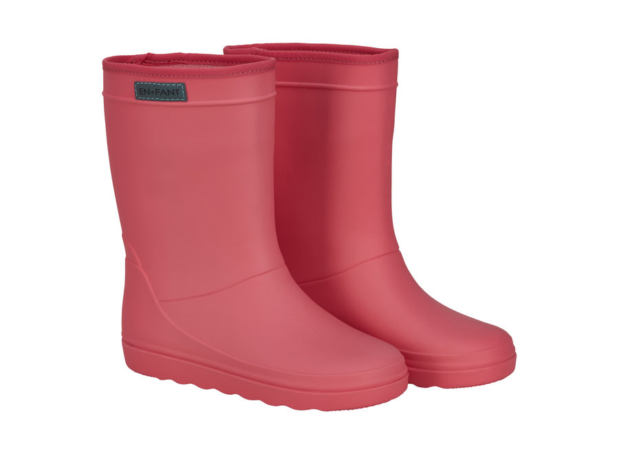 Rubber Rain Boot Georgia Peach