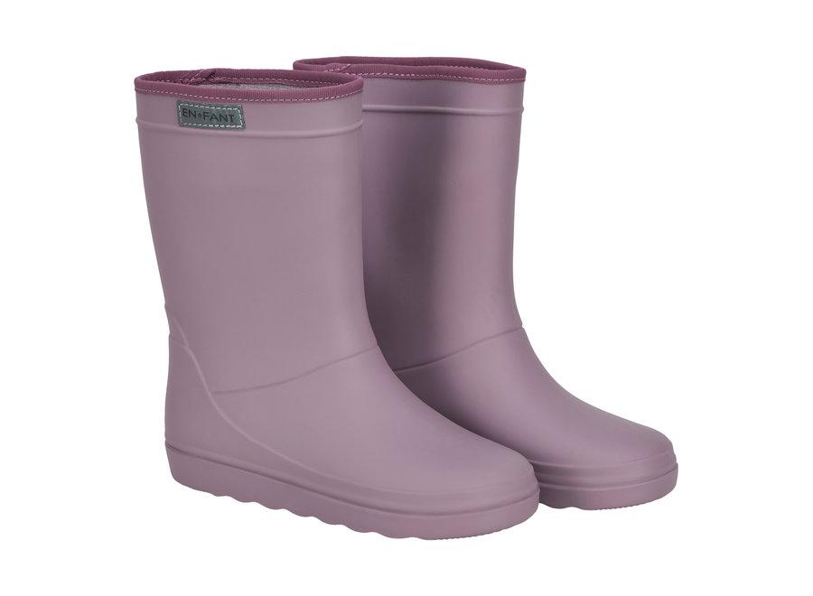 Rubber Rain Boot Toadstool SUMMER