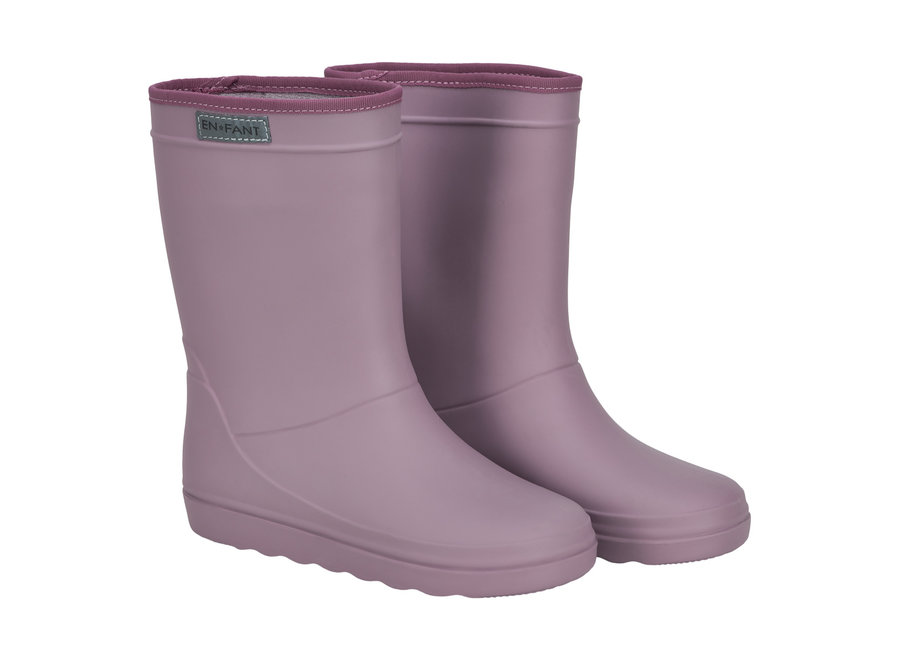 Rubber Rain Boot Toadstool