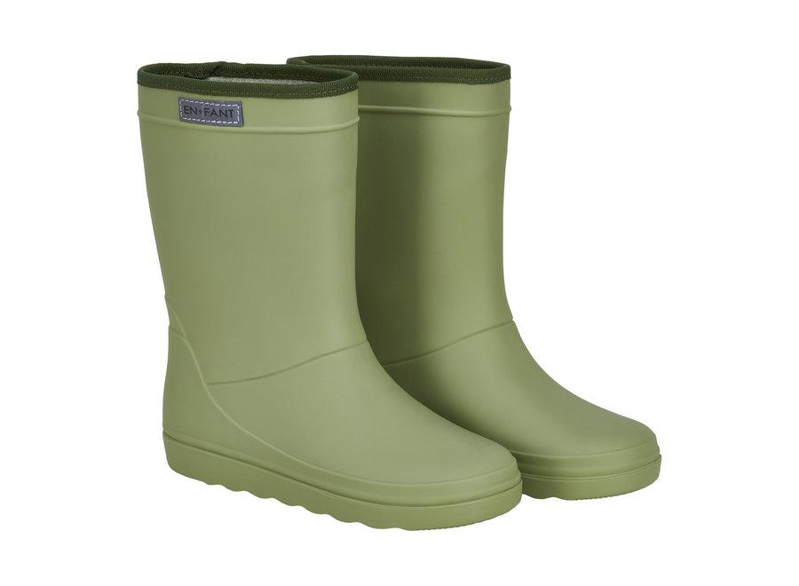 Rubber Rain Boot  Sage SUMMER