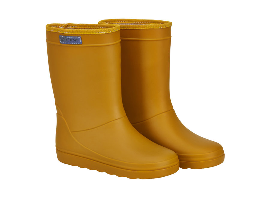 Rubber Rain Boot  Nugget Gold
