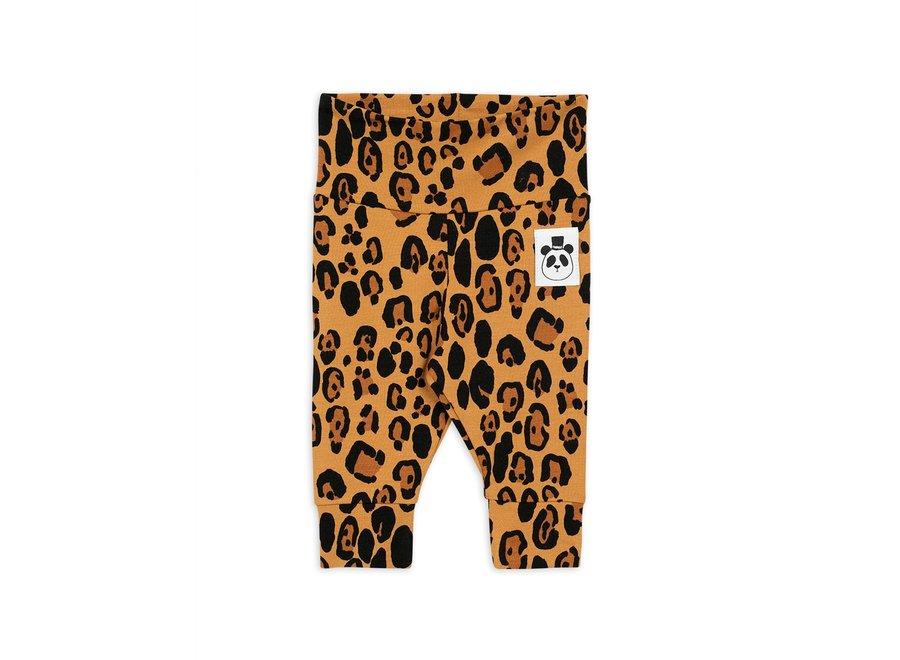 Basic leopard newborn legging