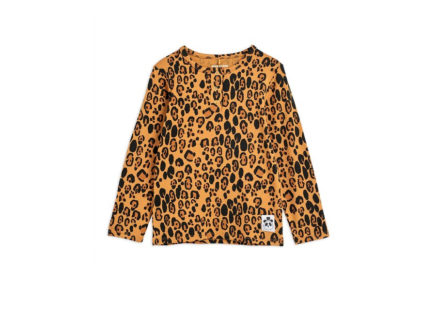 Basic leopard grandpa shirt