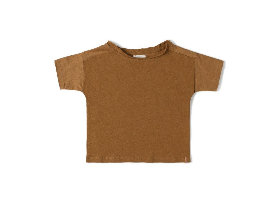 Com T-shirt Caramel