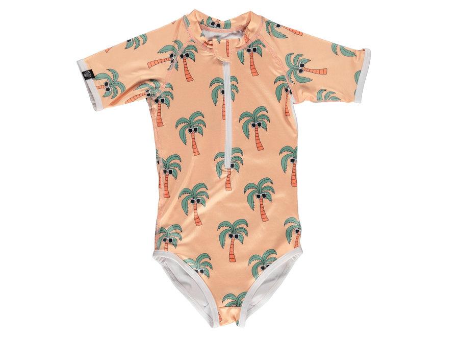 Palm Breeze Suit Sunny Cream
