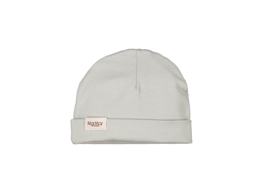 Aiko Modal Smooth Solid Hat Baby Chalk