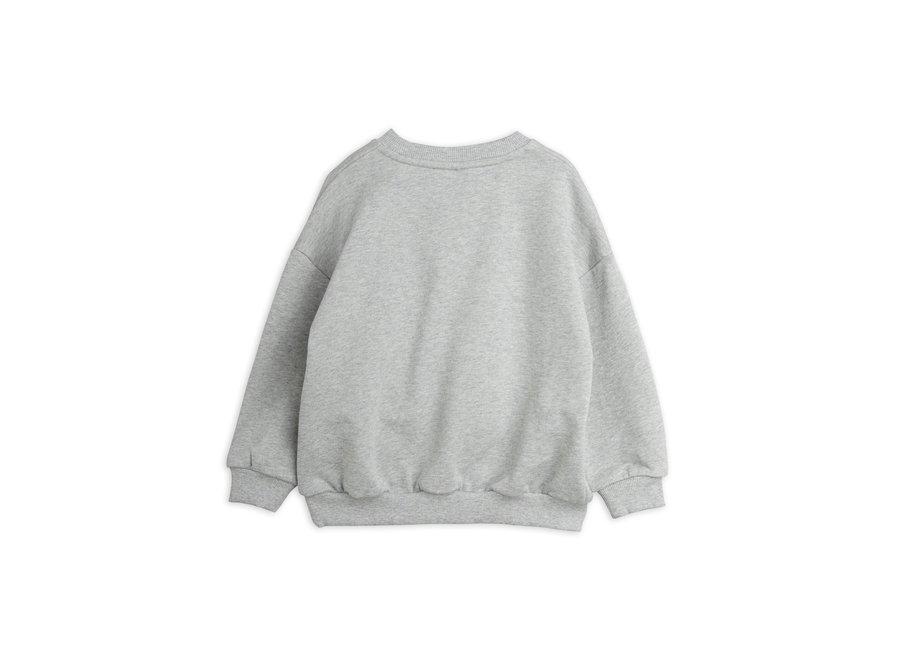 Turtle sp sweatshirt grey melange