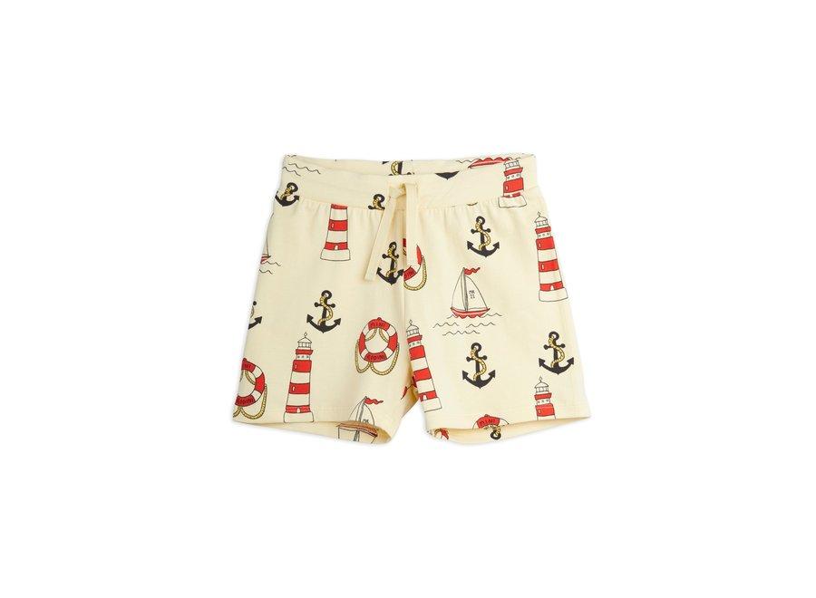 Lighthouse aop shorts