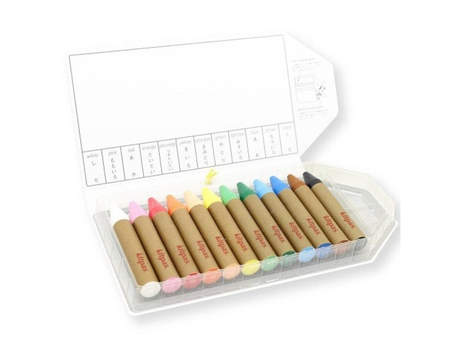 Art Crayons large  12 pcs