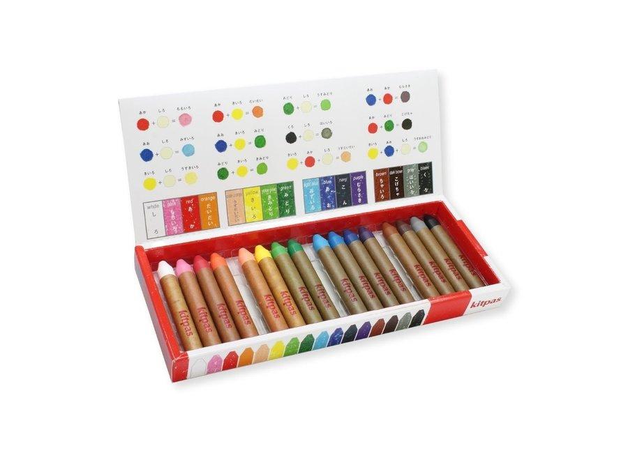Art Crayons medium 16 pcs