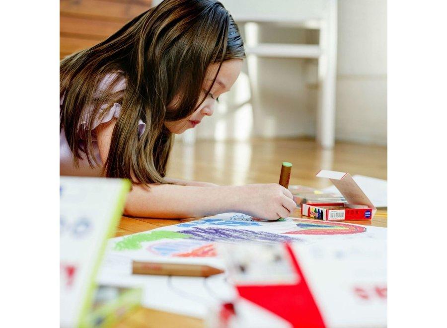 Art Crayons medium 6 pcs