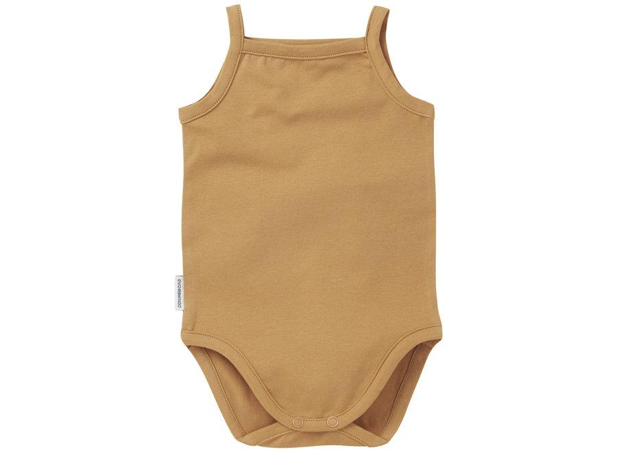 Singlet bodysuit Light Ochre