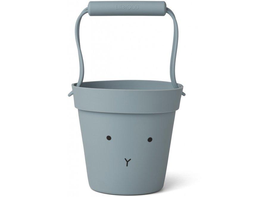 Linda bucket Rabbit Sea blue