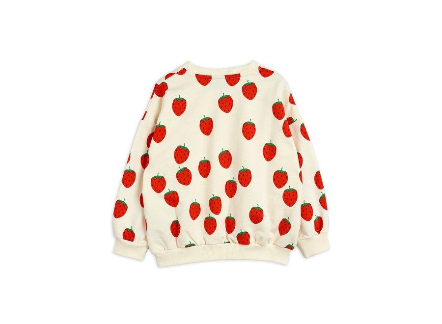 Strawberry aop Sweatshirt Off White