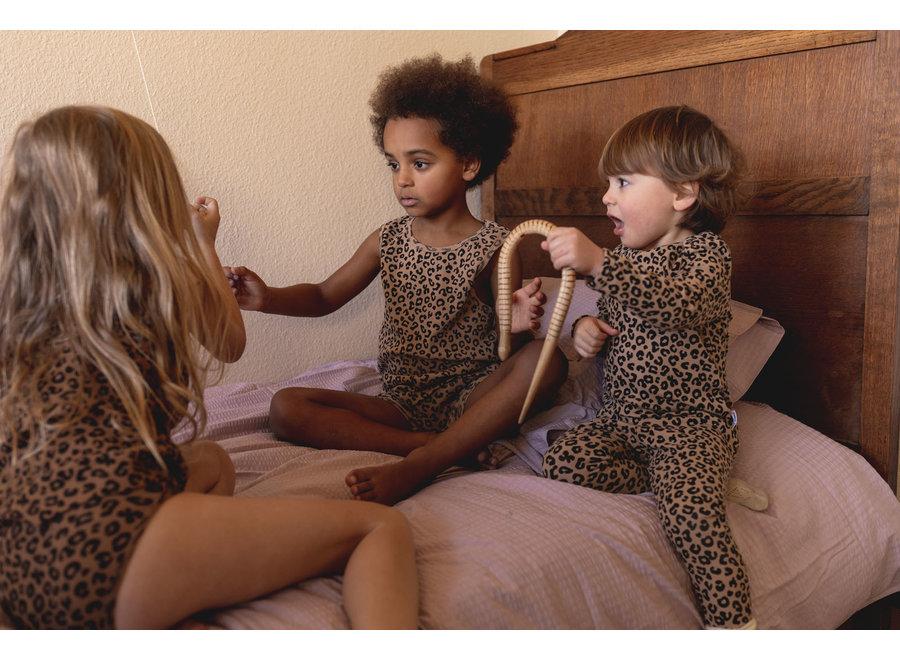 Brown leopard AOP  Longsleeve