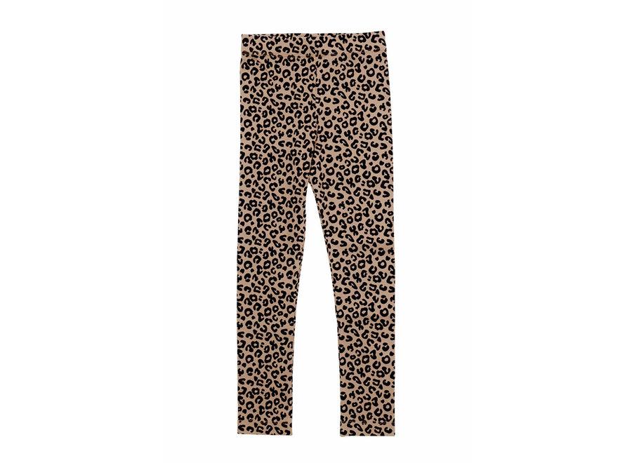 Brown leopard AOP Legging