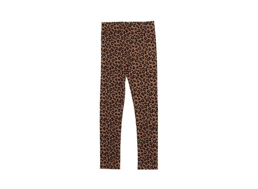 Chocolate leopard AOP Legging