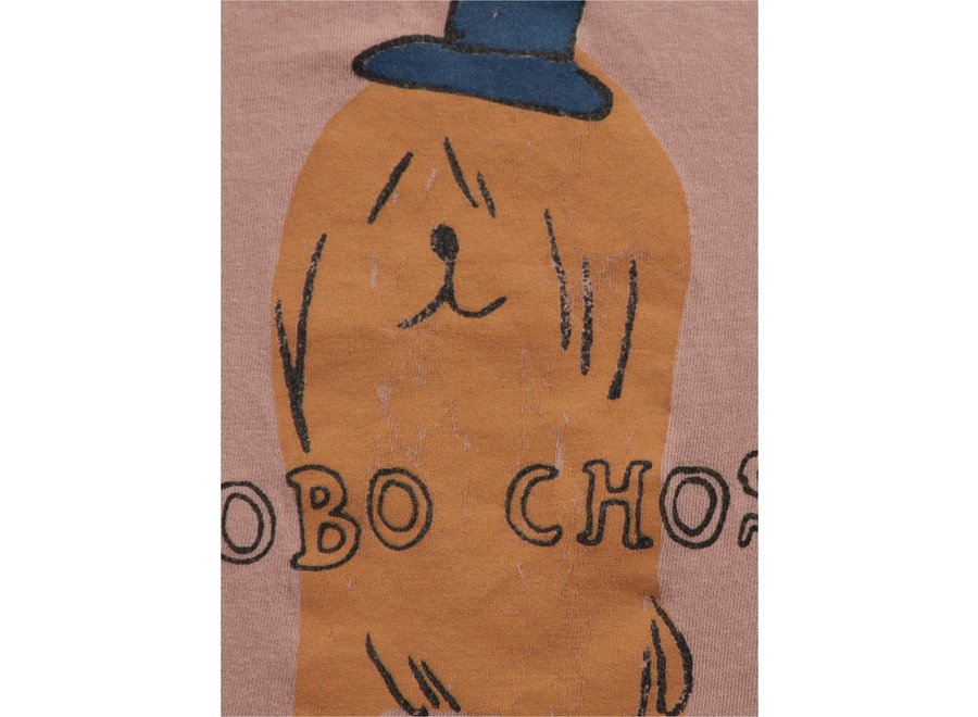 Dog in the Hat longsleeve T-shirt BABY