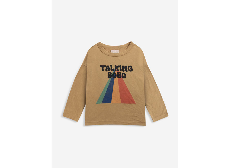 Talking Bobo Rainbow longsleeve T-shirt KID