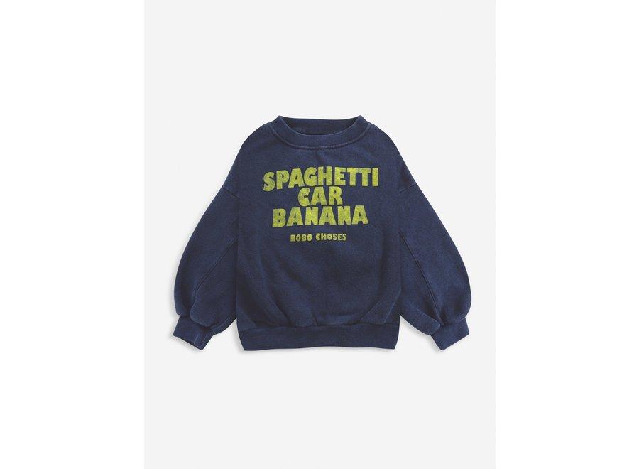 Spaghetti Car Banana sweatshirt KID