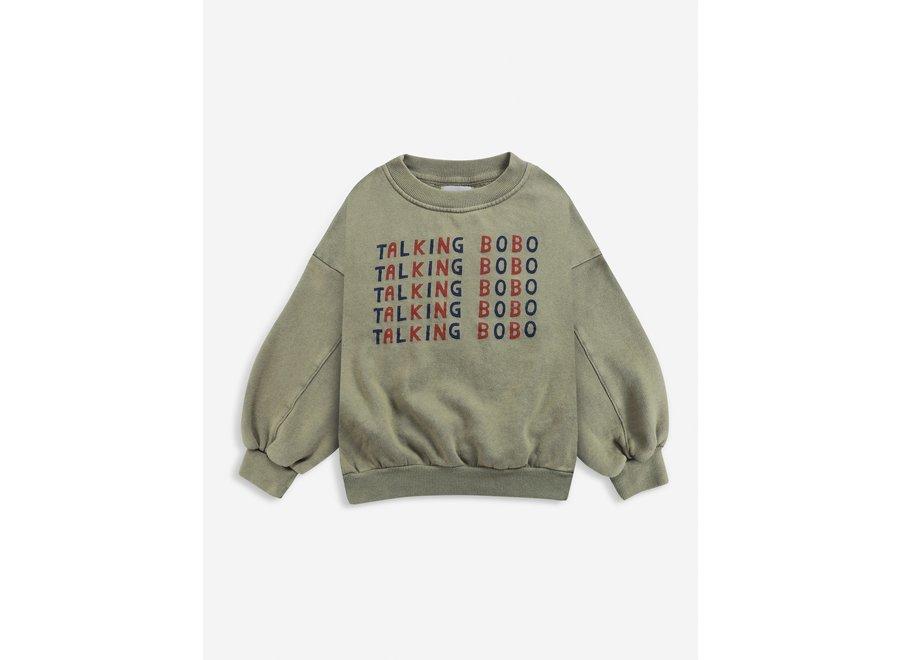 Talking talking sweatshirt KID