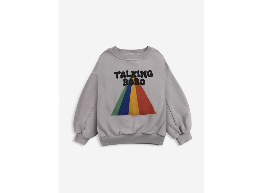 Talking Bobo Rainbow sweatshirt KID