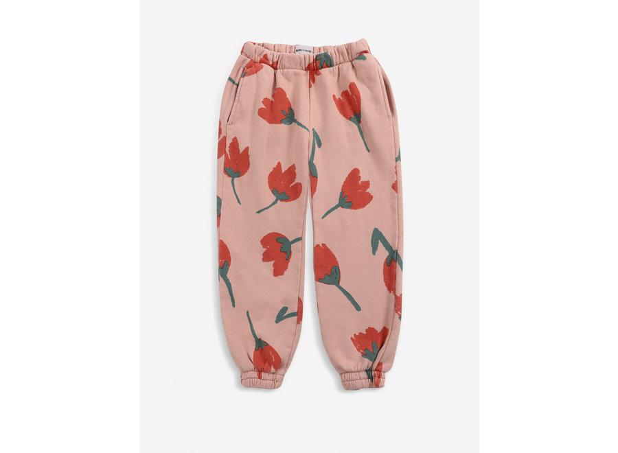 Big Flowers all over jogging pants KID