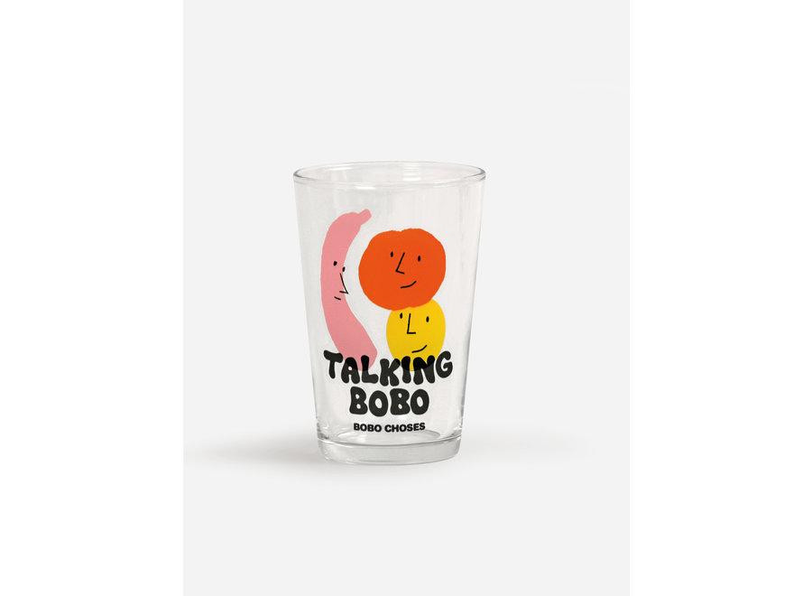 Talking Bobo glass set