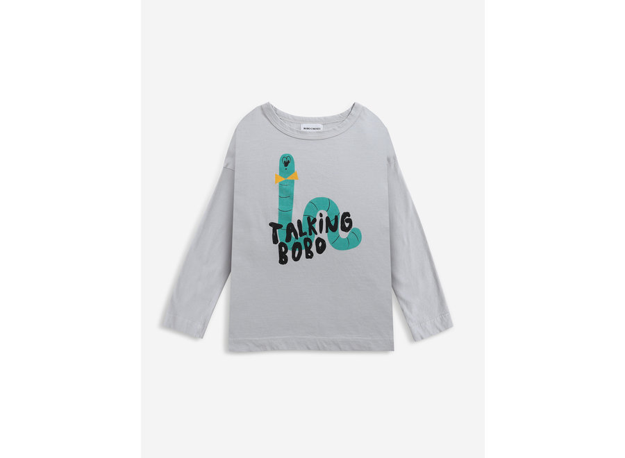 Scholar Worm longsleeve T-shirt KID