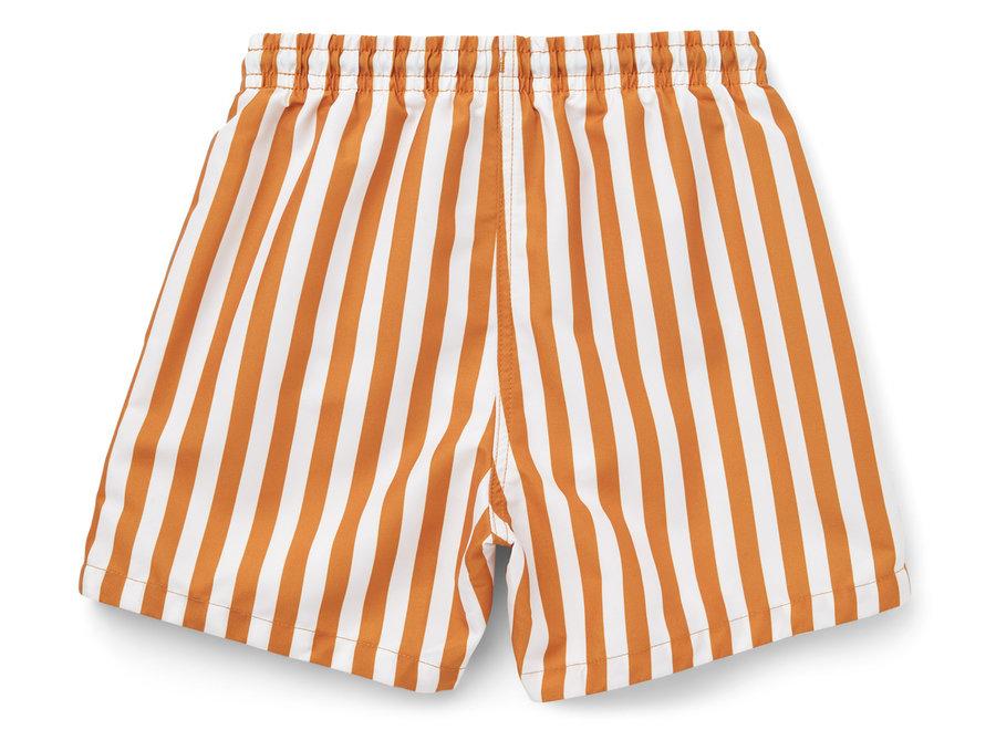 Duke Board Shorts Mustard/White