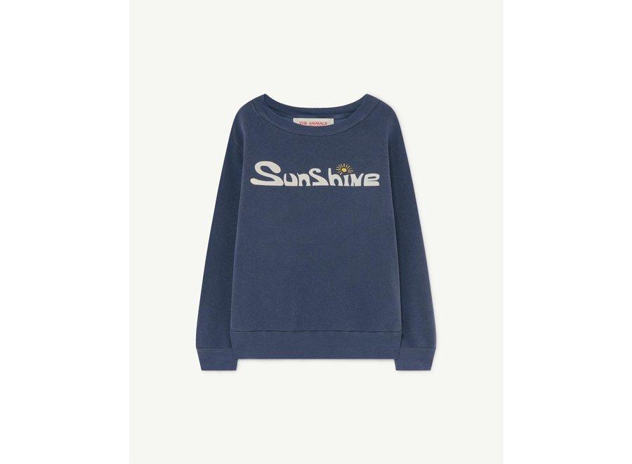 Bear Kids + Sweatshirt Deep Blue Sunshine