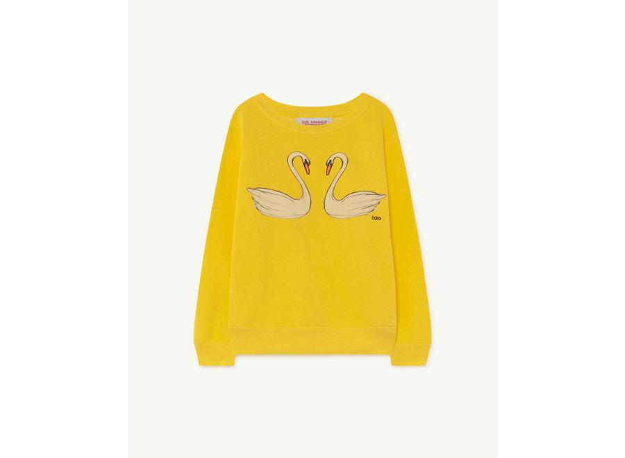 Bear Kids + Sweatshirt Yellow Swans