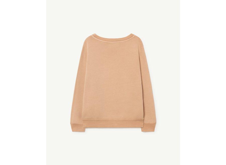 Bear Kids + Sweatshirt Soft Pink Octogon