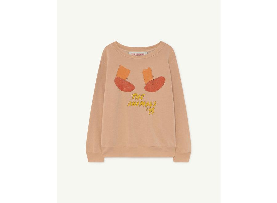 Bear Kids + Sweatshirt Soft Pink Feet