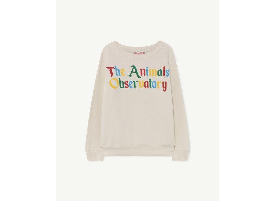 Bear Kids + Sweatshirt White The Animals