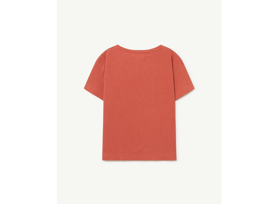 Rooster Kids + T-shirt Red The Animals