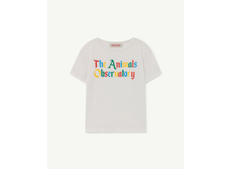 Rooster Kids + T-shirt White The Animals