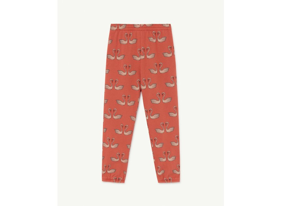 Dromedary Kids Trousers Red Swans