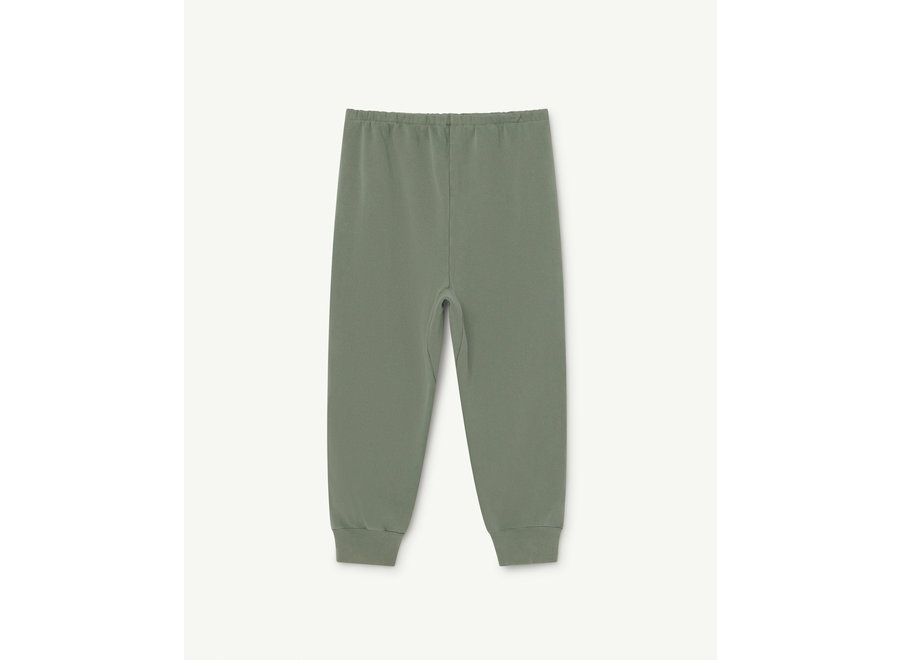 Panther Kids Trousers Soft Green Logo