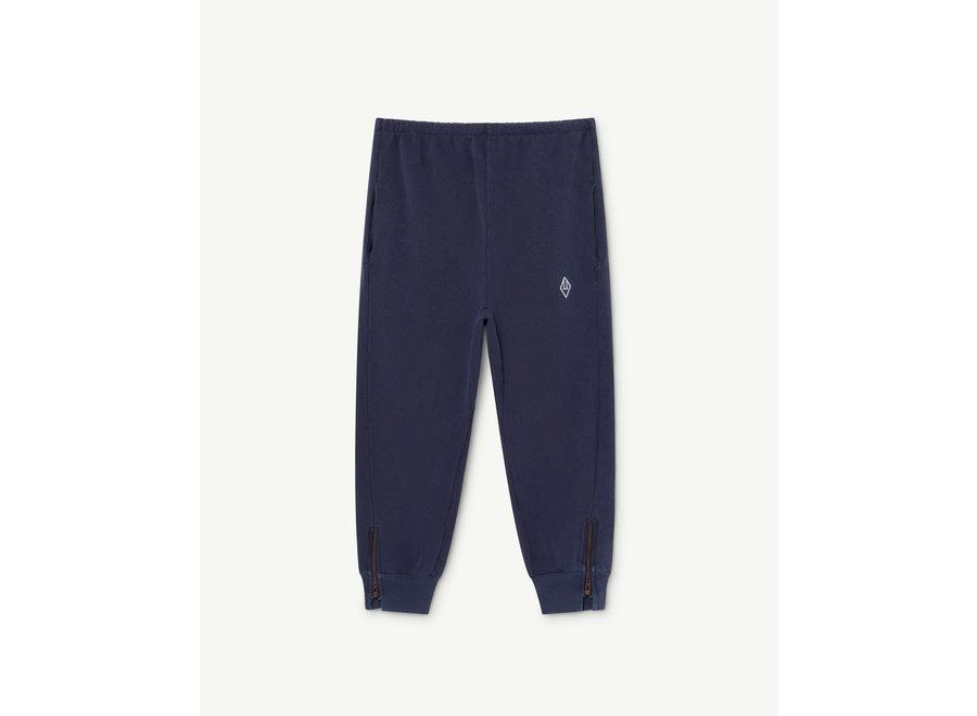 Panther Kids Trousers Deep Blue Logo