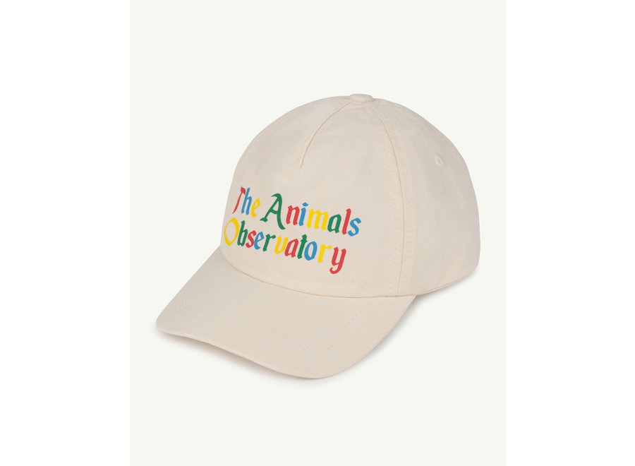 Hamster Kids Cap White The Animals one size
